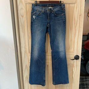 Banana Republic Wide Leg Jeans 02 2 Flap Pocket